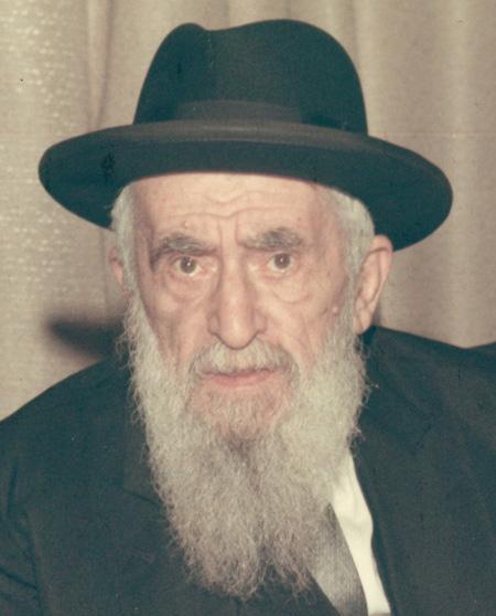 """Horav Moshe Dov Ber Rivkin zt""""l"""